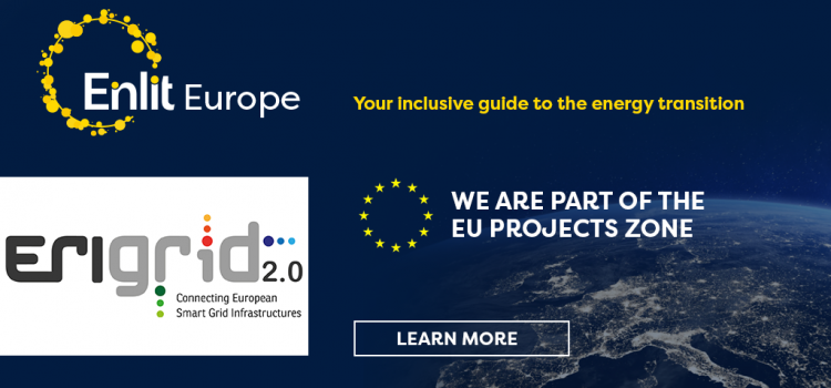 ERIGrid 2.0 Virtual Booth at EU Project Zone of Enlit Europe 2021